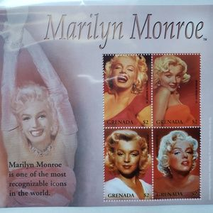 Other - Marilyn Monroe Collectors Stamps